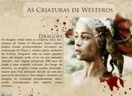 Game of Thrones: confira infográfico sobre as criaturas de Westeros