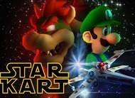 Star Kart: divertido vídeo mashup mistura Star Wars com Mario Kart