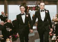 Jim Parsons, o Sheldon de The Big Bang Theory, publica fotos de seu casamento!