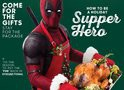 Deadpool serve o peru no primeiro pôster da sequência