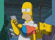 Os Simpsons: sem sinal de vida ou internet no trailer do episódio 29x21, season finale