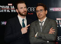 Robert Downey Jr. deu carro temático do Capitão América para Chris Evans