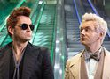 Good Omens: foto revela visual de David Tennant e Michael Sheen na série