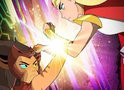 She-Ra vs Felina: cartaz da 2ª temporada de She-Ra e as Princesas do Poder